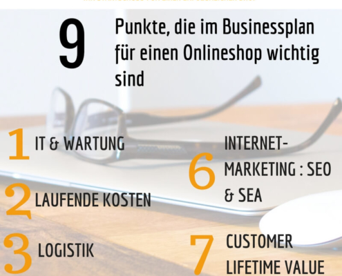 Businessplan zum Onlineshop
