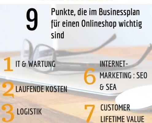 Businessplan zum Onlineshop