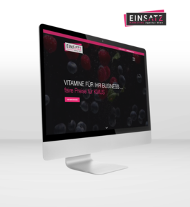 Zur EINSATZ Marketing Agentur Website