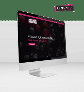 Zur EINSATZ Marketing Agentur Website